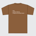 Brown Unbridled Tee